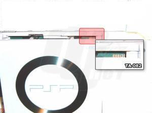 Placa de un PSP